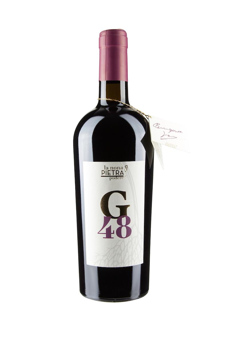 etichetta vino G48