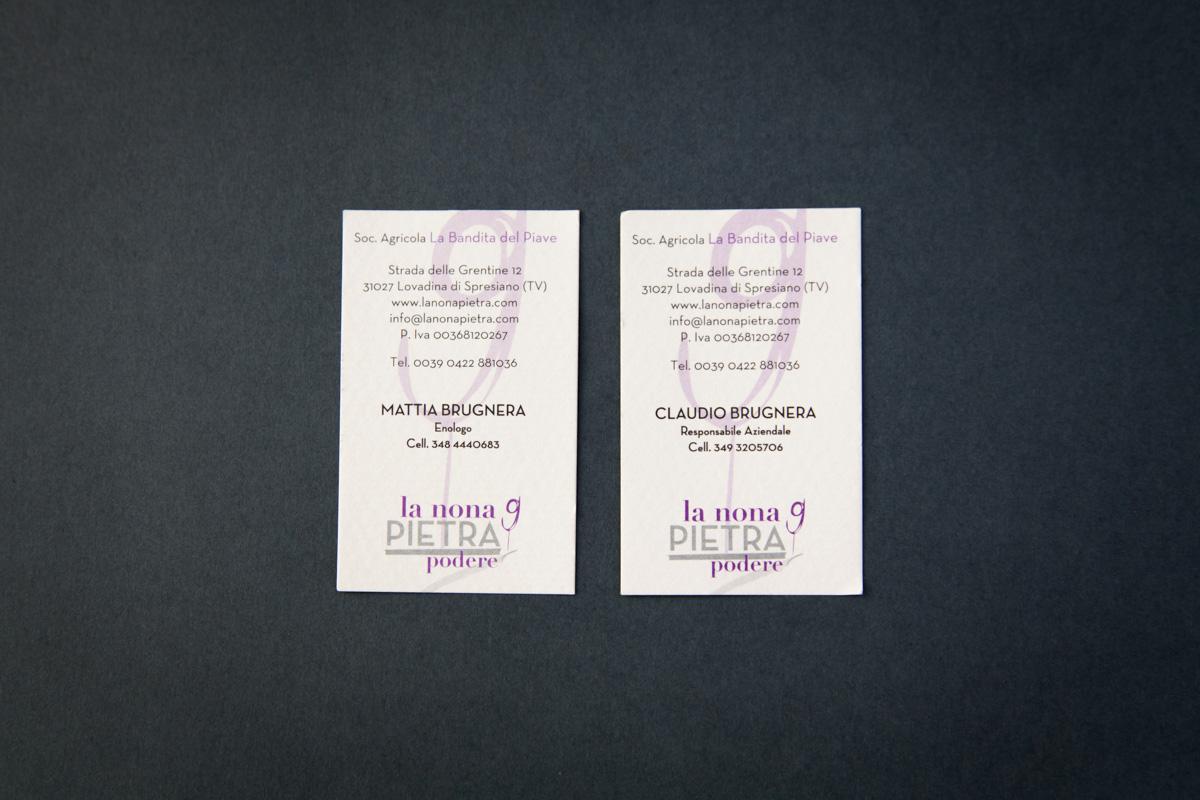 biglietto da visita La Nona Pietra