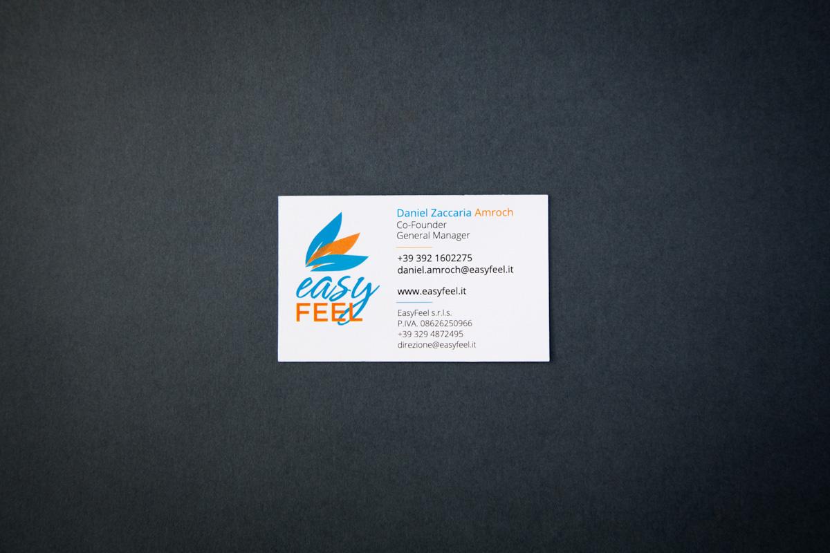biglietti da visita Easy Feel
