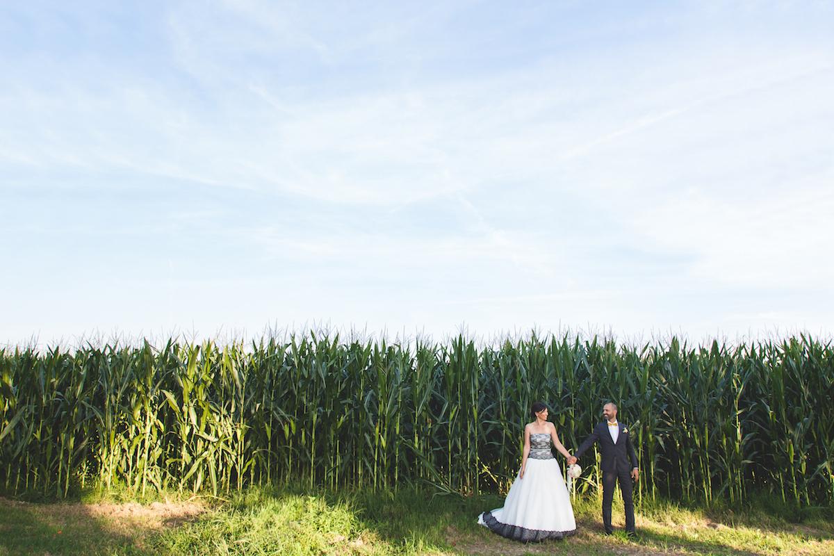Matrimonio fotografia e coordinato grafico